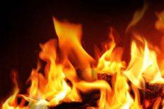 Du Gott des Feuers komm